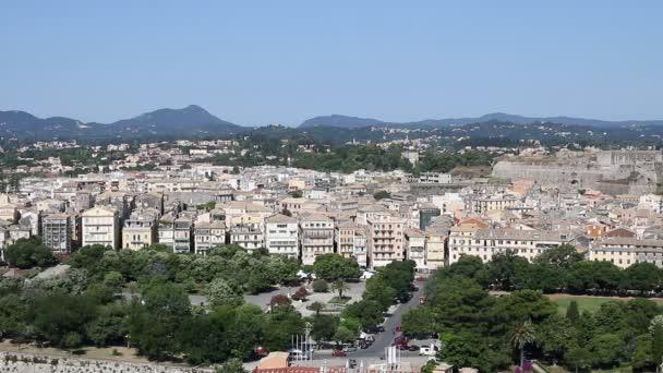 alten Corfu Stadt Stadtansicht Griechenland