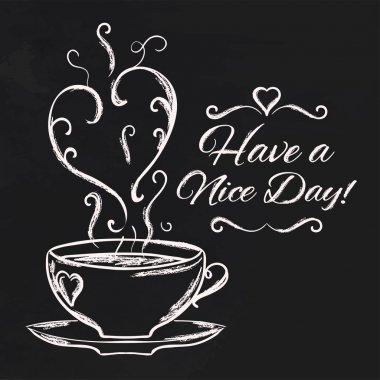 Nice day with cup of tea