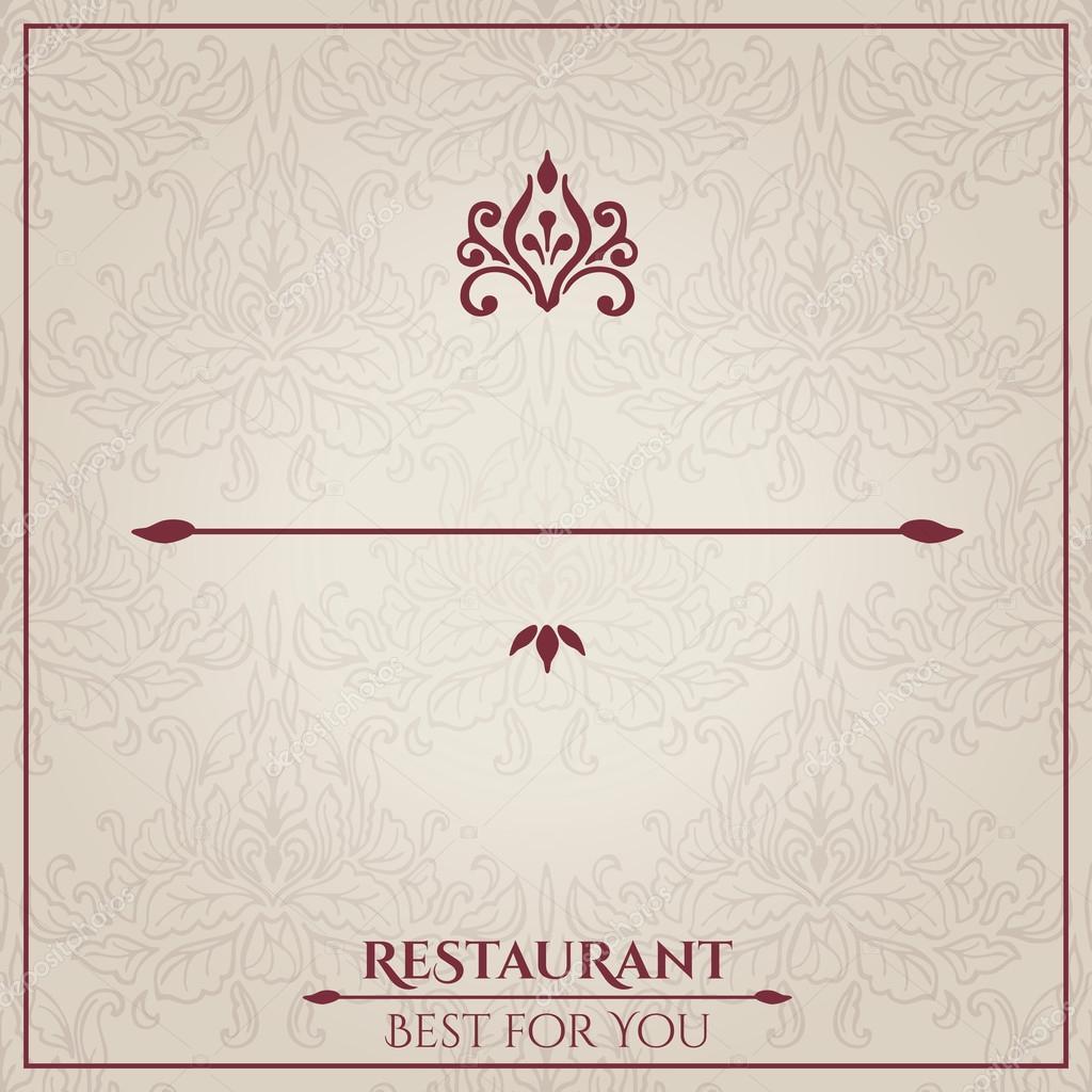 Restaurant Menu Design Stock Vector C Ollevita 63673751