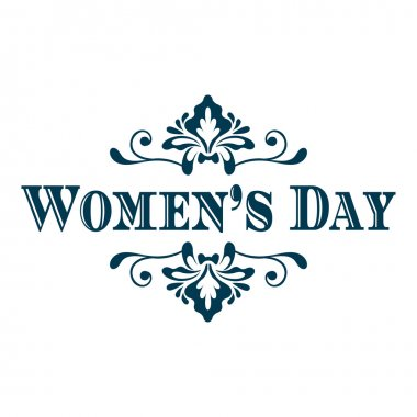 Happy Woman's Day lettering