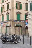 Pouliční scéna Florencie