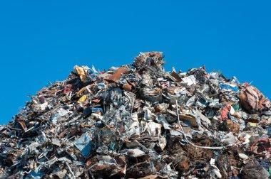 Pile of scrap meta