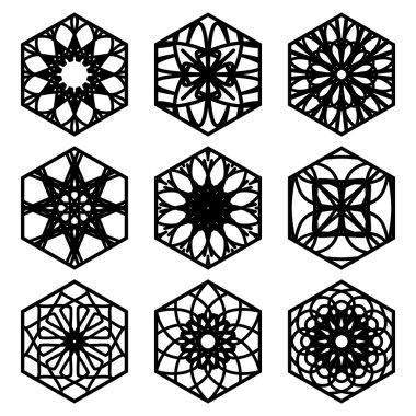 Square Ornament Set