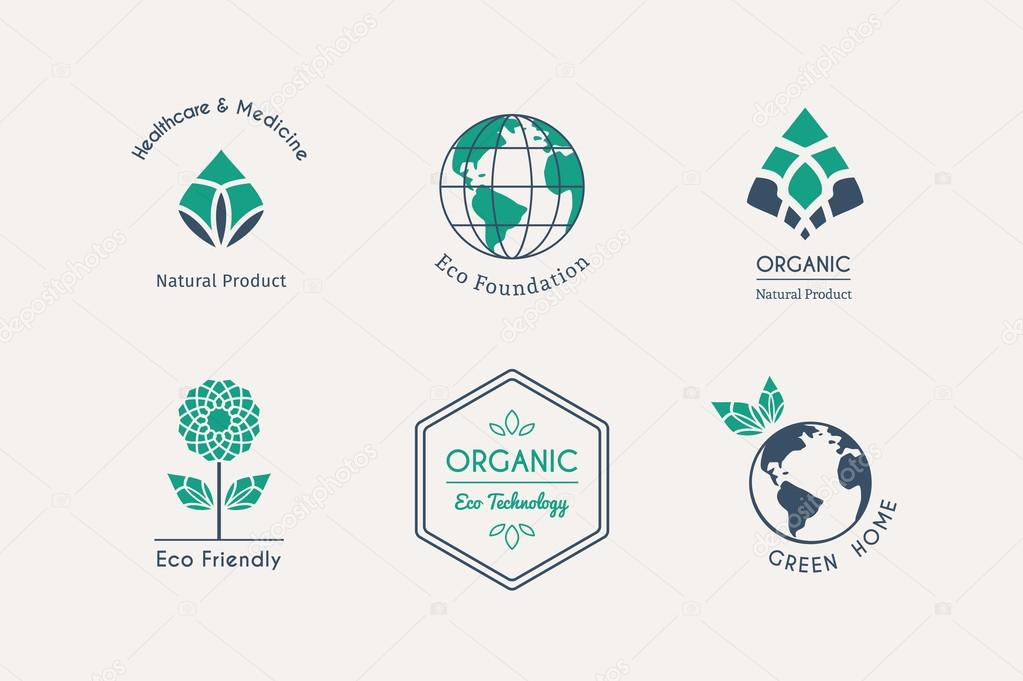 Vector Ecological Logos