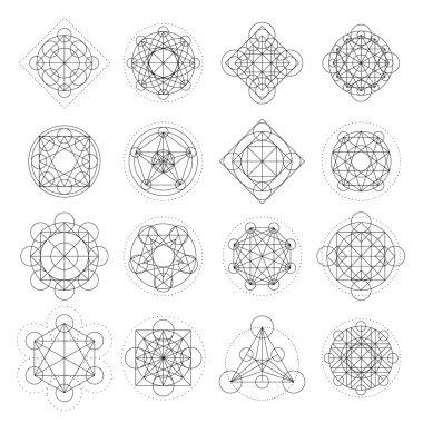 Vector Magic Geometry Signs