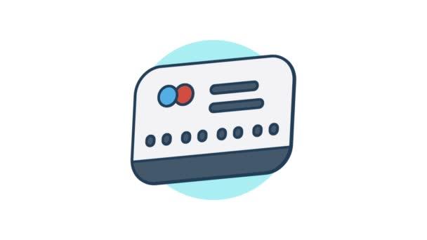 CreditCard ikona rotace 360 stupňů