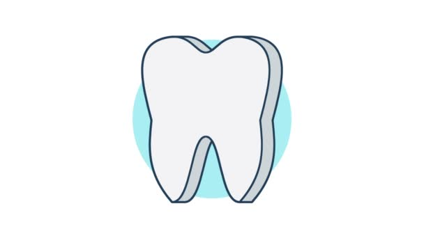 Tooth icon rotation 360 degrees