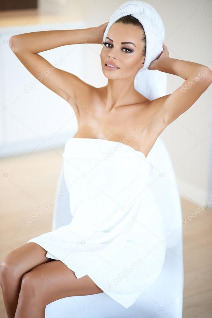 Still that? Photos of sexy women wearing towels something