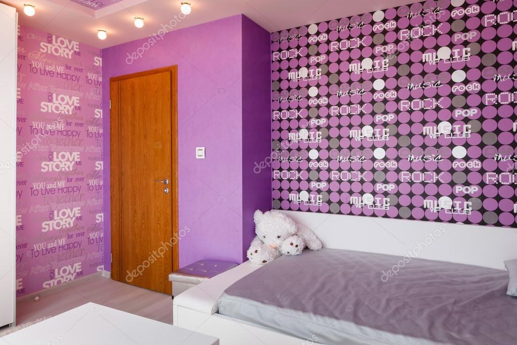 Dormitorios modernos para ni os azul foto de stock - Dormitorios infantiles modernos ...