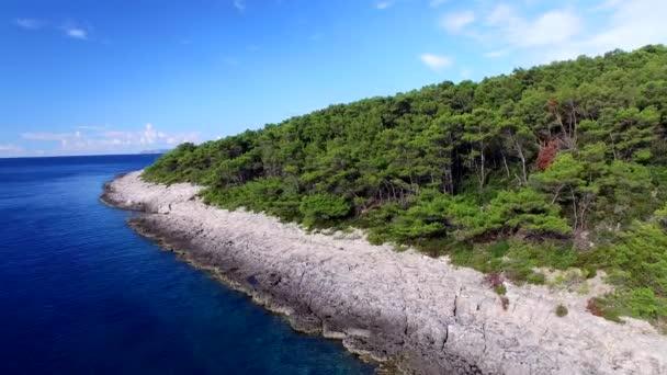 krásný ostrov Korčula v souostroví Dubrovník a Makarska