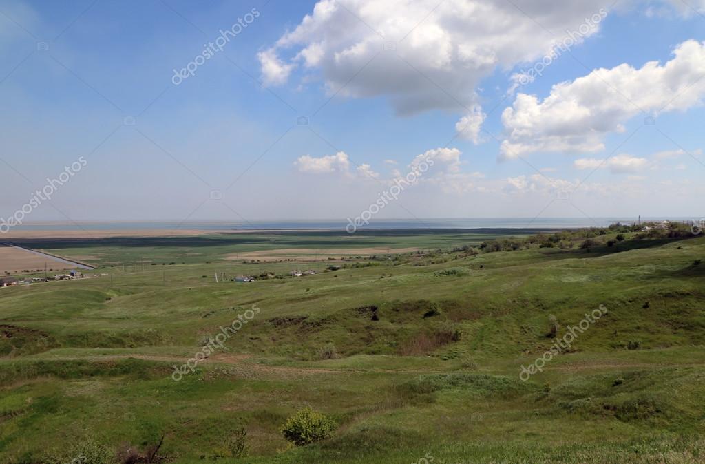 ロシアのクバン川風景 — ストッ...