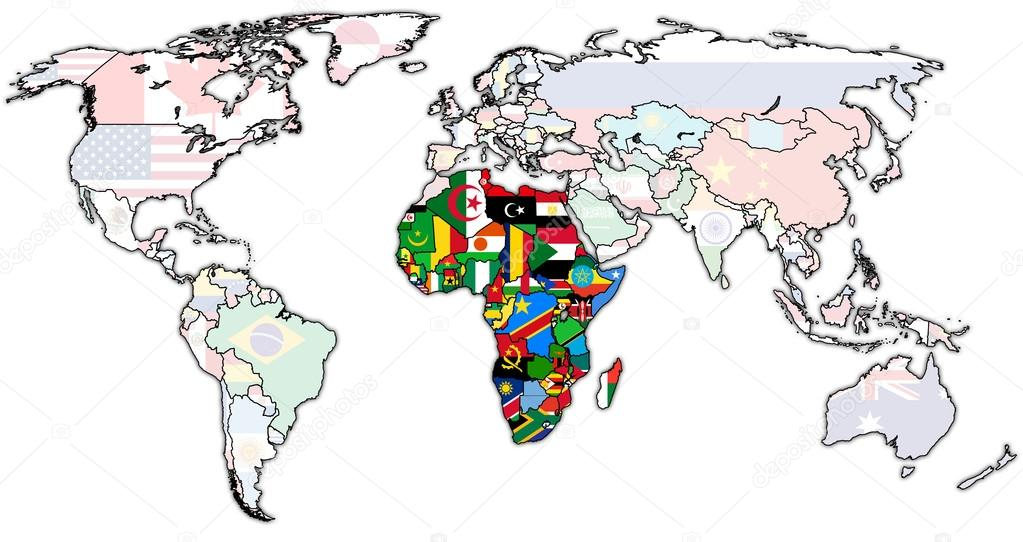 African Union Map.African Union On Map Stock Photo C Michal812 88367030