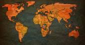 Konžská demokratická republika území na mapě světa