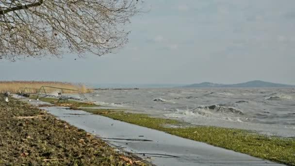 Szél vihar: Balaton, Magyarország