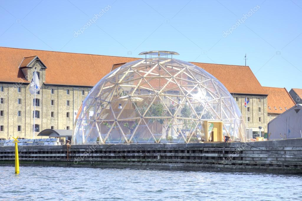 D Nemark Kopenhagen Vision Kuppel Redaktionelles