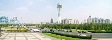 Astana. Center of city. Panorama