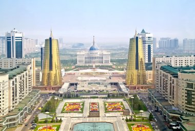 Astana. View from the bird's-eye view