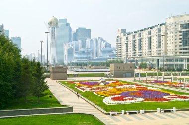 Astana. Center of city. Nurzhol Boulevard