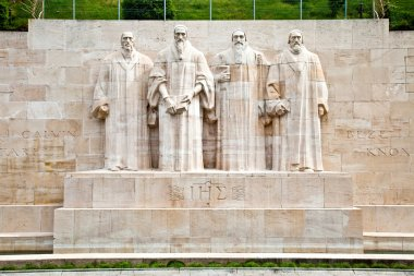 Geneva. Reformation Wall