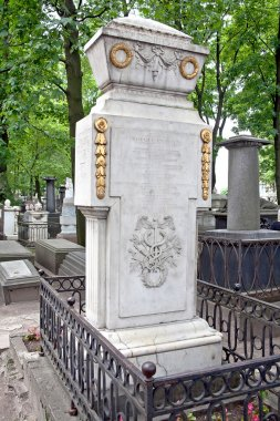 Necropolis. Tomb of the scientist Mikhail Lomonosov