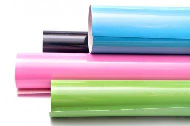 Multicolored rolls