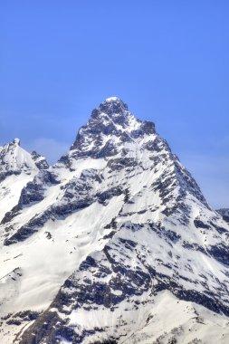 Dombay. Mountain Belalakaya