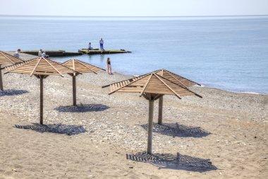 Adler. Beach