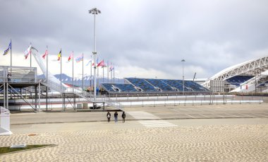 Sochi. Olympic area and automotive circuit Formula 1