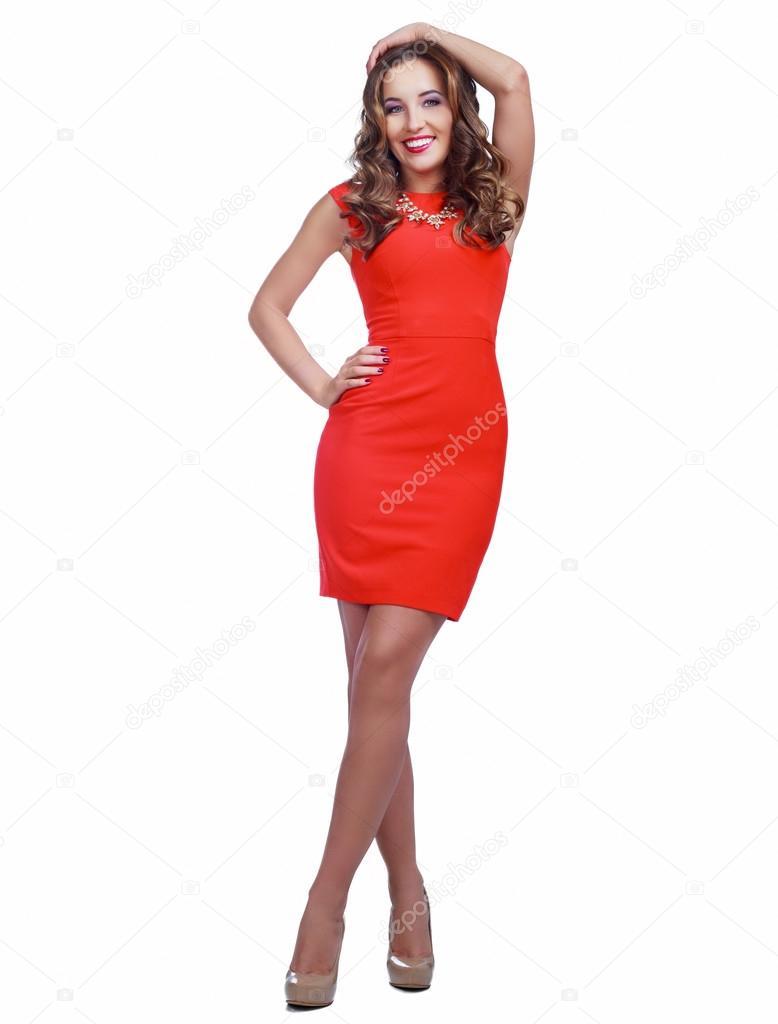 Imagenes de mujer vestida de rojo
