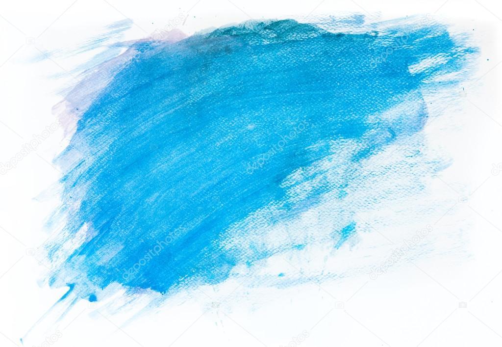 Azul pintura acuarela sobre lienzo fotos de stock for Color agua marina pintura