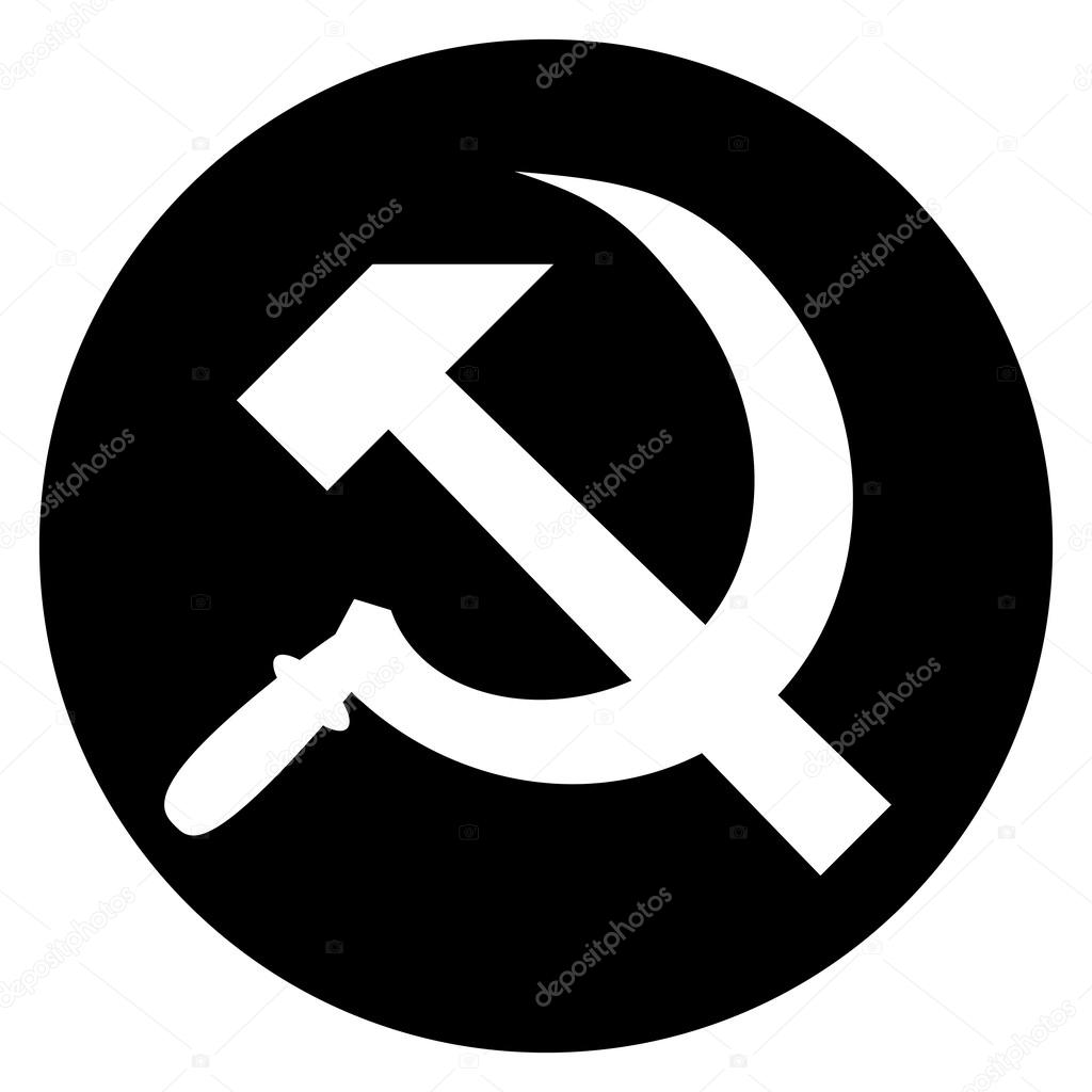 Hammer and sickle isolated on white background vector stock hammer and sickle isolated on white background vector stock vector biocorpaavc Gallery
