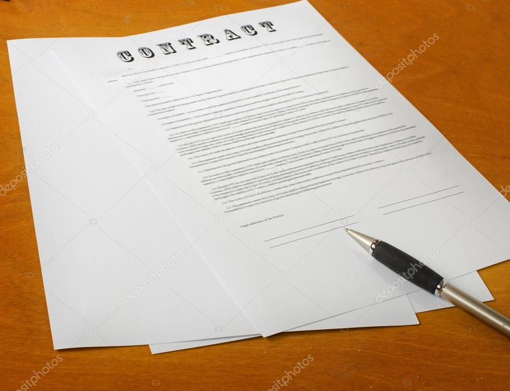 The Signing Of A Legal Document Stock Photo Vladz - Signing legal documents