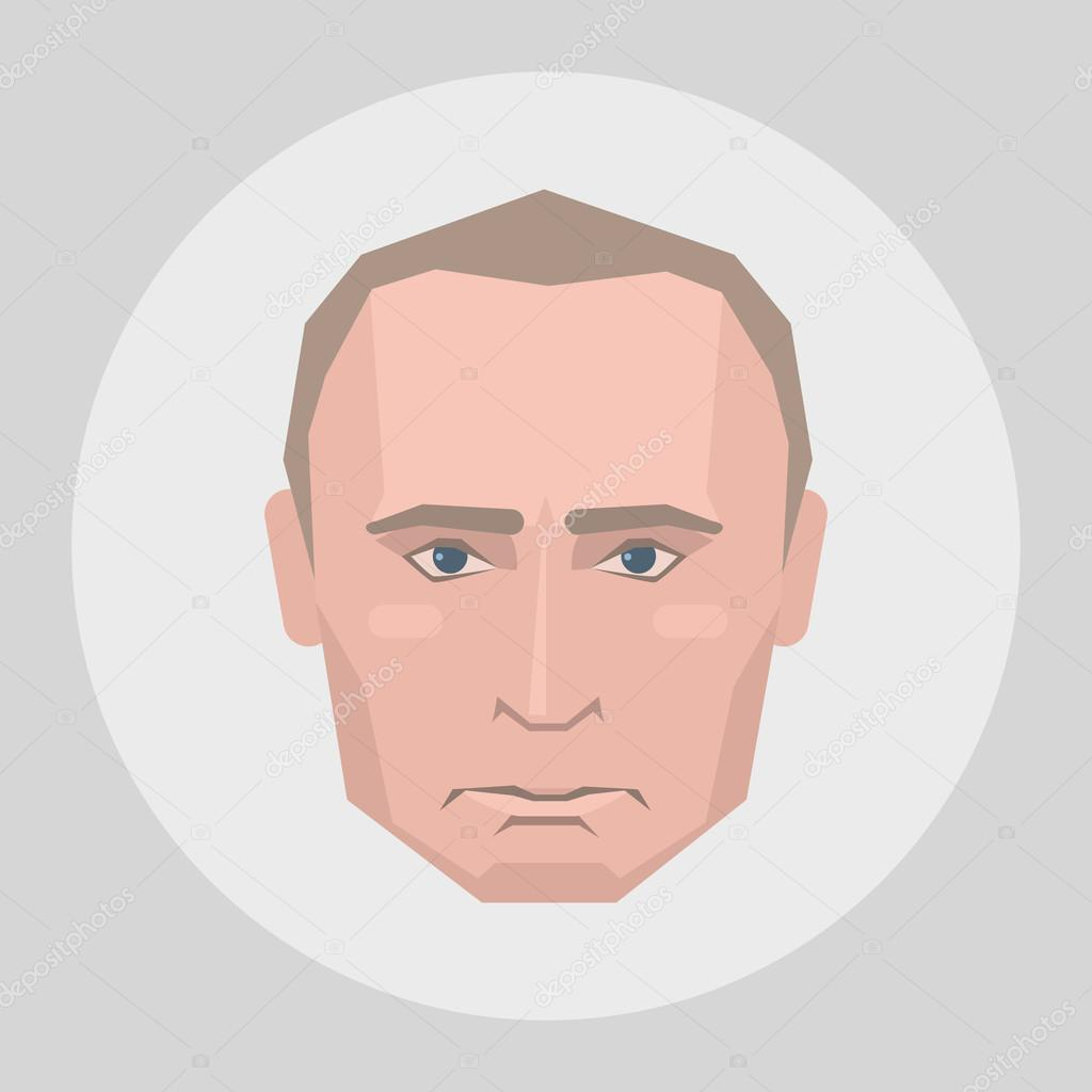 March 31, 2015: Portrait of President Putin