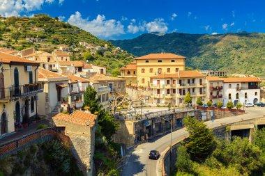 Little village Savoca, Sicily