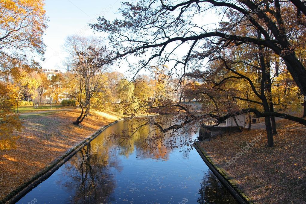 autumn Milda in Riga