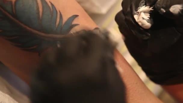 Tatuażysta Cieniowanie Tatuaż
