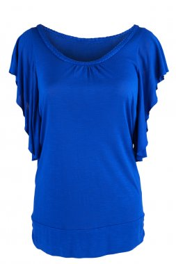 Women's tunic in royal blue