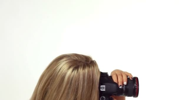 žena fotograf