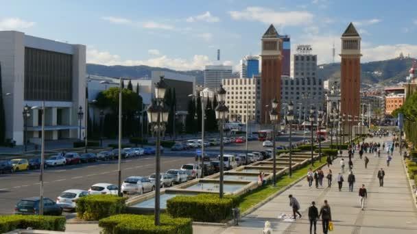 pohled na plaza de espana