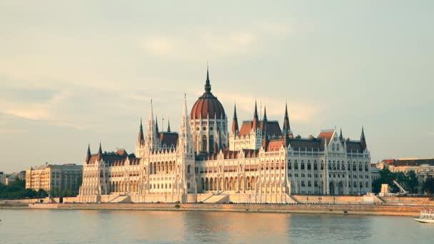 Az Országház épülete Budapesten