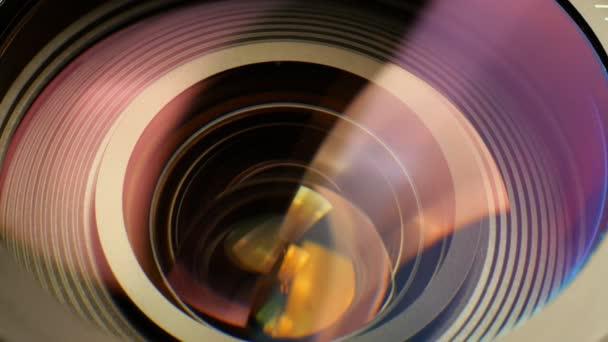 Zoom objektiv fotoaparátu.