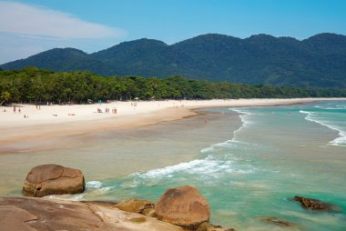 Lopes Mendes beach, Grande island, Rio do Janeiro, Brazil