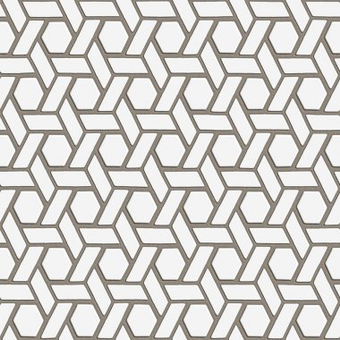 Seamless tileable decorative background pattern stock vector