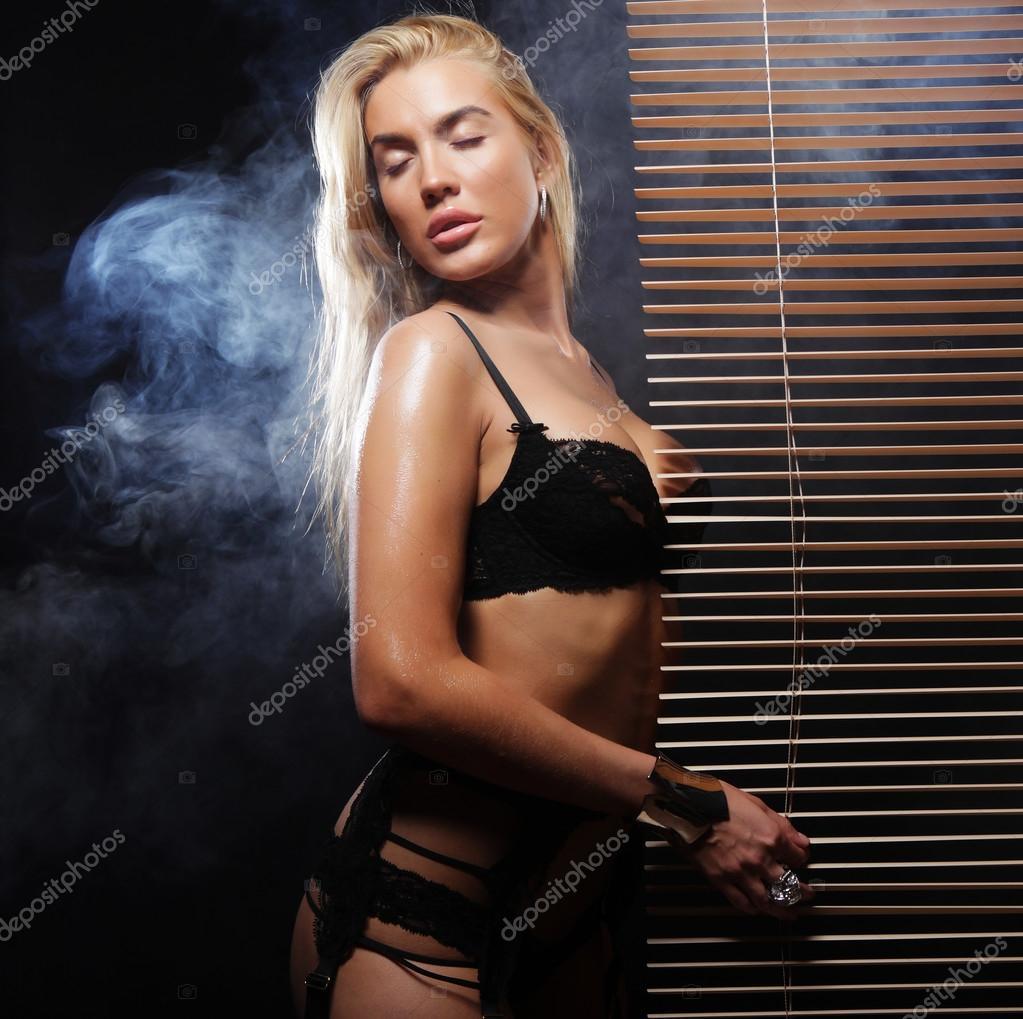 Sexy strip trease