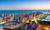 Fotografie Malaga cityscape