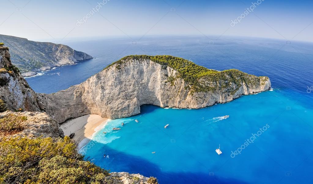 Navagio shipwreck beach, Zakynthos, Greece