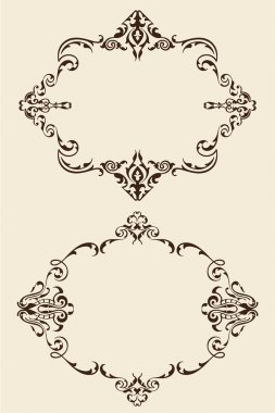 Baroque rame set