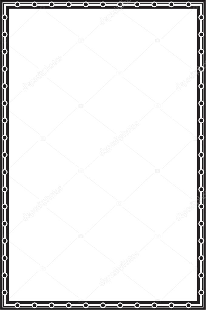 Baroque nice frame — Stock Vector © buravtsoff #54355285