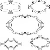 Baroque frame set