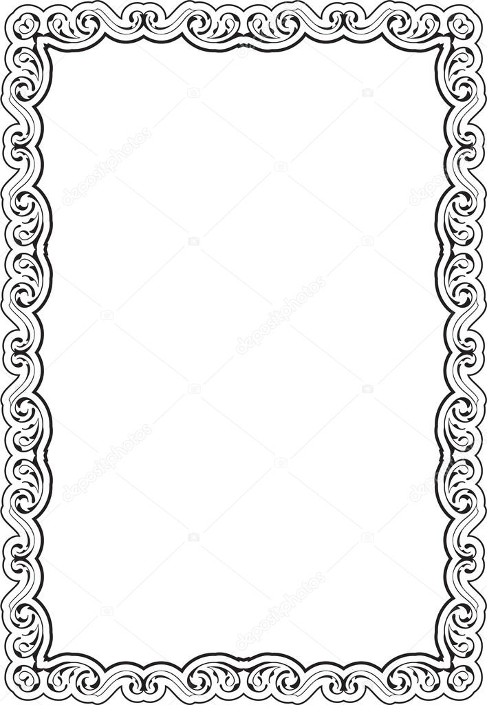 Art nice frame — Vector de stock © buravtsoff #76692347